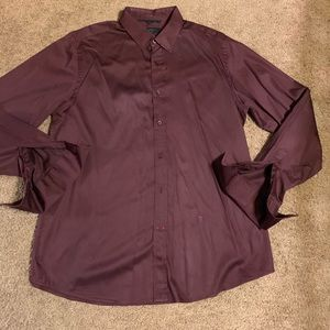 Guess men's buttondown cuffed shirt XL
